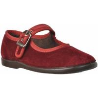 Buty Dziewczynka Derby & Richelieu Vulladi 34601 Czerwony