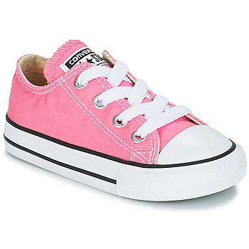 Buty Dziewczynka Trampki niskie Converse CHUCK TAYLOR ALL STAR CORE OX Różowy
