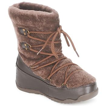 Buty Damskie Śniegowce FitFlop SUPERBLIZZ Chocolat