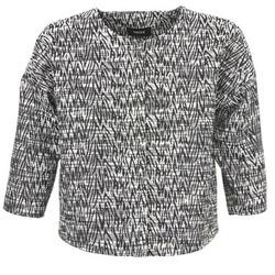 tekstylia Damskie Kurtki / Blezery Mexx MX3002331 Czarny / Biały