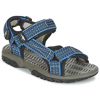 Buty Chłopiec Sandały Kangaroos KS 22 Niebieski