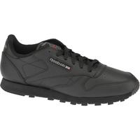 Buty Chłopiec Trampki niskie Reebok Sport Classic Leather  50149 Czarne