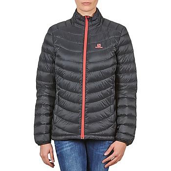 tekstylia Damskie Kurtki pikowane Salomon Jacket HALO DOWN JACKET W BLACK Czarny