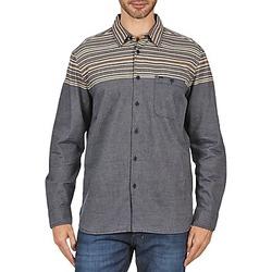 tekstylia Męskie Koszule z długim rękawem Element LENOX Szary