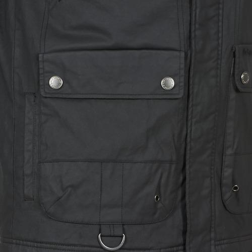 Lee Cooper Dexter Czarny - Bezpłatna Dostawa- Tekstylia Kurtki Krótkie Meskie 39450 Najniższa Cena