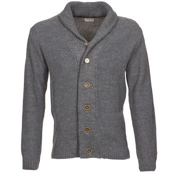 tekstylia Męskie Swetry rozpinane / Kardigany Casual Attitude DARYL Szary