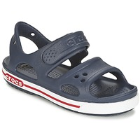 Buty Chłopiec Sandały Crocs CROCBAND II SANDAL PS Marine / Biały