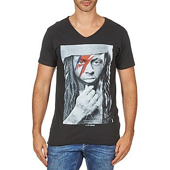 tekstylia Męskie T-shirty z krótkim rękawem Eleven Paris KAWAY M MEN Czarny