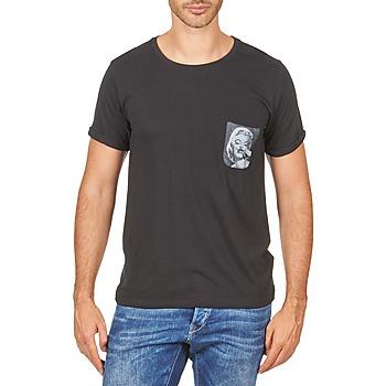 tekstylia Męskie T-shirty z krótkim rękawem Eleven Paris MARYLINPOCK MEN Czarny