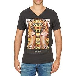 tekstylia Męskie T-shirty z krótkim rękawem Eleven Paris N35 M MEN Czarny