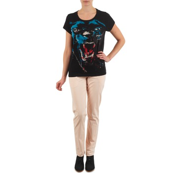 tekstylia Damskie Chinos Eleven Paris PANDORE WOMEN Różowy