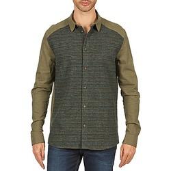 tekstylia Męskie Koszule z długim rękawem Eleven Paris VRAPP MEN Kaki
