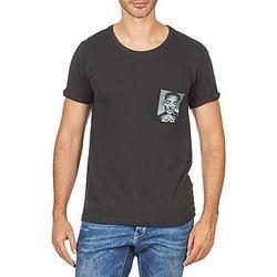 tekstylia Męskie T-shirty z krótkim rękawem Eleven Paris WOLYPOCK MEN Czarny
