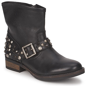 Buty Pieces ISADORA LEATHER BOOT