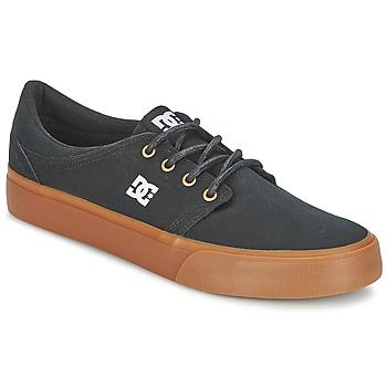 Buty Męskie Trampki niskie DC Shoes TRASE TX Czarny / Dore