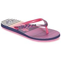 Buty Dziewczynka Japonki Roxy RG PEBBLES V G SNDL PST Różowy / Rayé