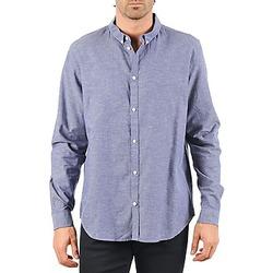 tekstylia Męskie Koszule z długim rękawem Cheap Monday DAMON BD SHIRT Niebieski