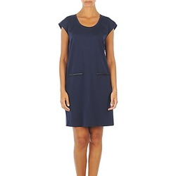 tekstylia Damskie Sukienki krótkie Vero Moda CELINA S/L SHORT DRESS MARINE