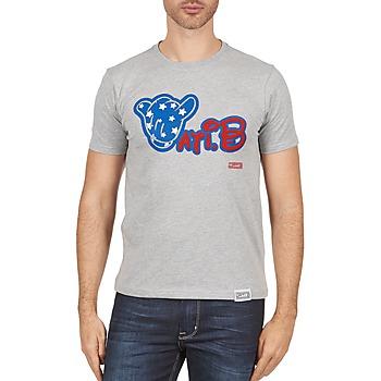 tekstylia Męskie T-shirty z krótkim rękawem Wati B TSMIKUSA Szary