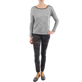 tekstylia Damskie Spodnie z pięcioma kieszeniami Esprit superskinny cam Pants woven Kaki