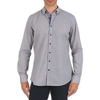 tekstylia Męskie Koszule z długim rękawem Hackett MEDALLION MULTI BD Niebieski