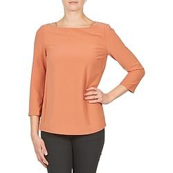 tekstylia Damskie T-shirty z długim rękawem Color Block 3214723 KORAL