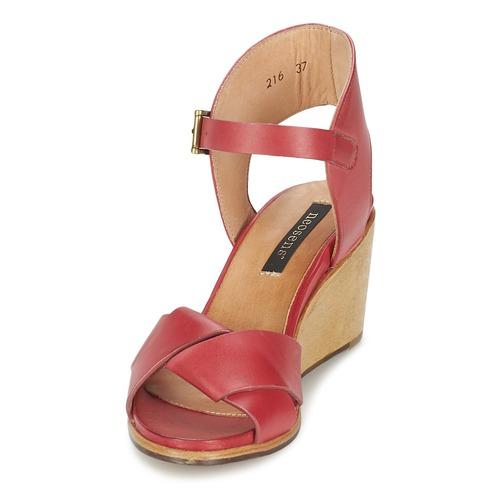 NOAH  Neosens  sandały  damskie  czerwony