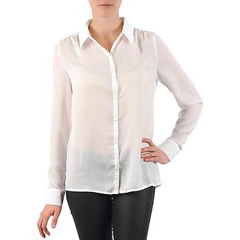 tekstylia Damskie Koszule La City OCHEM Biały