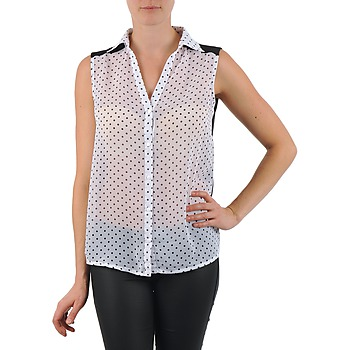 tekstylia Damskie Koszule La City O DEB POIS Biały
