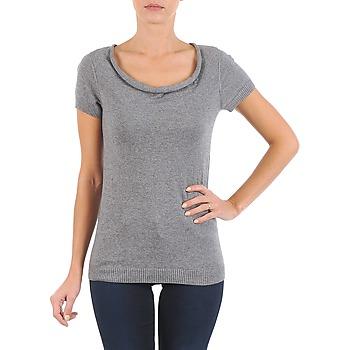 tekstylia Damskie T-shirty z krótkim rękawem La City PULL COL BEB Szary