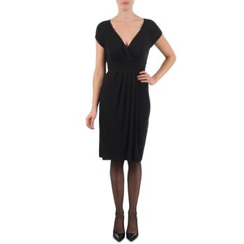tekstylia Damskie Sukienki krótkie La City ROBE3D1B Czarny