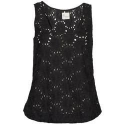 tekstylia Damskie Topy na ramiączkach / T-shirty bez rękawów Stella Forest ADE007 Czarny