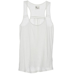 tekstylia Damskie Topy na ramiączkach / T-shirty bez rękawów Stella Forest ADE005 Biały