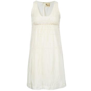 tekstylia Damskie Sukienki krótkie Stella Forest ARO015 ECRU