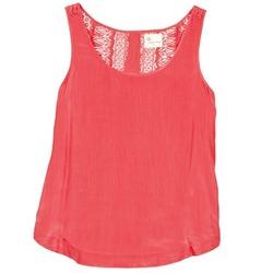 tekstylia Damskie Topy na ramiączkach / T-shirty bez rękawów Stella Forest ADE009 Różowy