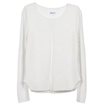 tekstylia Damskie Swetry American Retro GEMMA Biały