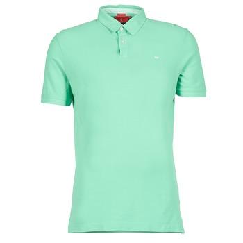 tekstylia Męskie Koszulki polo z krótkim rękawem Vicomte A. GARMENT DYE Zielony