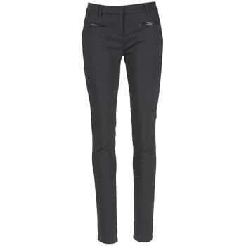 tekstylia Damskie Spodnie z pięcioma kieszeniami Tommy Hilfiger MARTA Czarny
