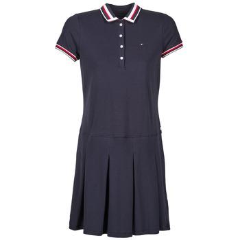 tekstylia Damskie Sukienki krótkie Tommy Hilfiger MELINDA Marine