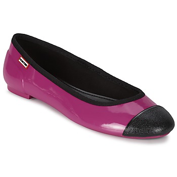 Buty Damskie Baleriny Hunter ORIGINAL BALLET FLAT Raspberry