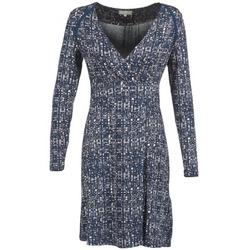 tekstylia Damskie Sukienki krótkie Cream OMAGA Niebieski