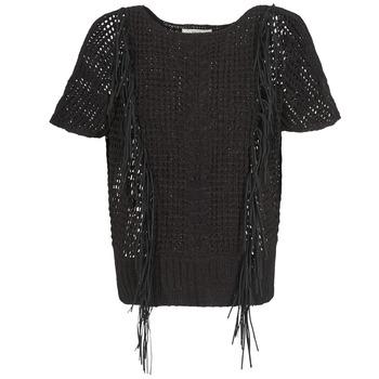 tekstylia Damskie Swetry Gaudi SILENE Czarny