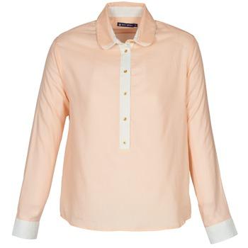 tekstylia Damskie Koszule Petit Bateau FILAO Różowy