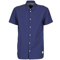 tekstylia Męskie Koszule z krótkim rękawem Suit DAN S Niebieski