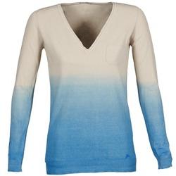 tekstylia Damskie Swetry Gas DESHI Beżowy / Niebieski