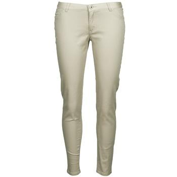 tekstylia Damskie Spodnie z pięcioma kieszeniami Little Marcel PRANTI Beżowy