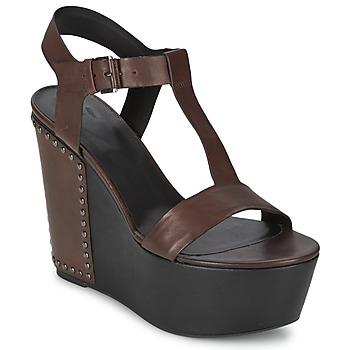 Buty Damskie Sandały Vic GIBSON Brązowy