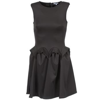 tekstylia Damskie Sukienki krótkie Brigitte Bardot BB44204 Czarny