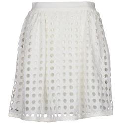 tekstylia Damskie Spódnice Brigitte Bardot BB44196 Biały