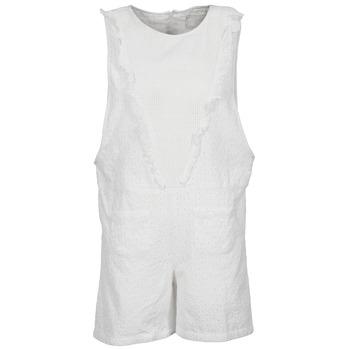 tekstylia Damskie Kombinezony / Ogrodniczki Brigitte Bardot BB44084 Biały